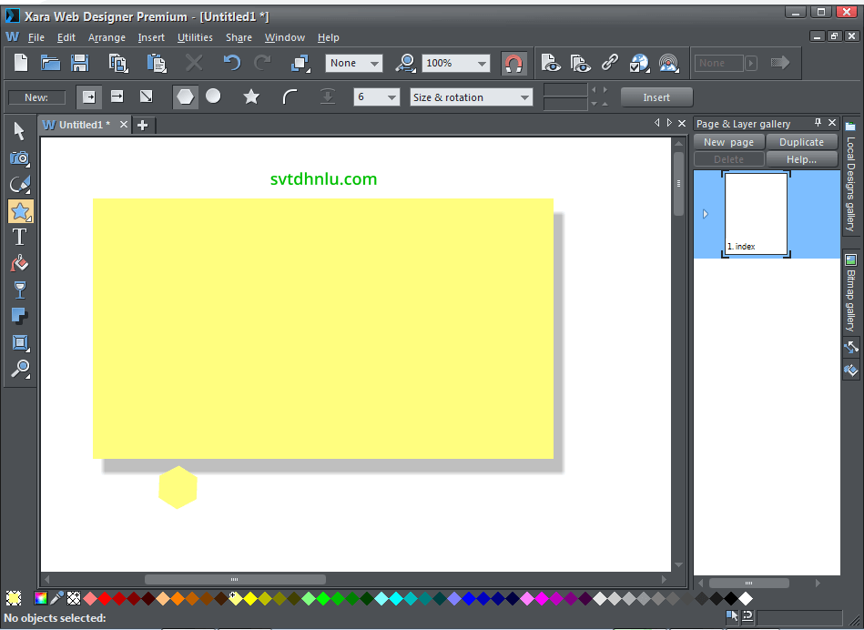 Download Xara Web Designer Premium 16 full crack