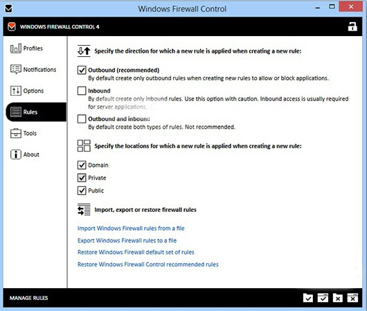 Windows FireWall Controll Free Download