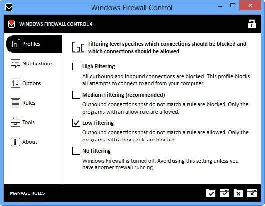 Windows Firewall Control 5.4