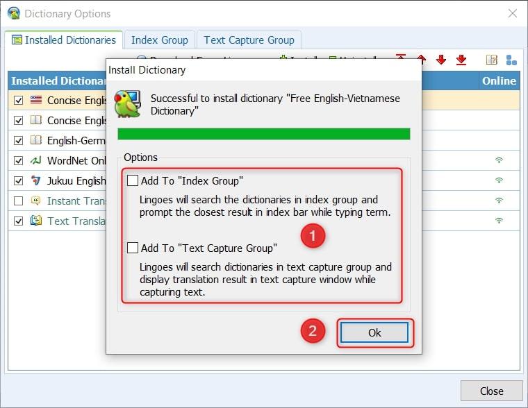 Hướng dẫn Add Dictionary vào Lingoes mới nhất 03